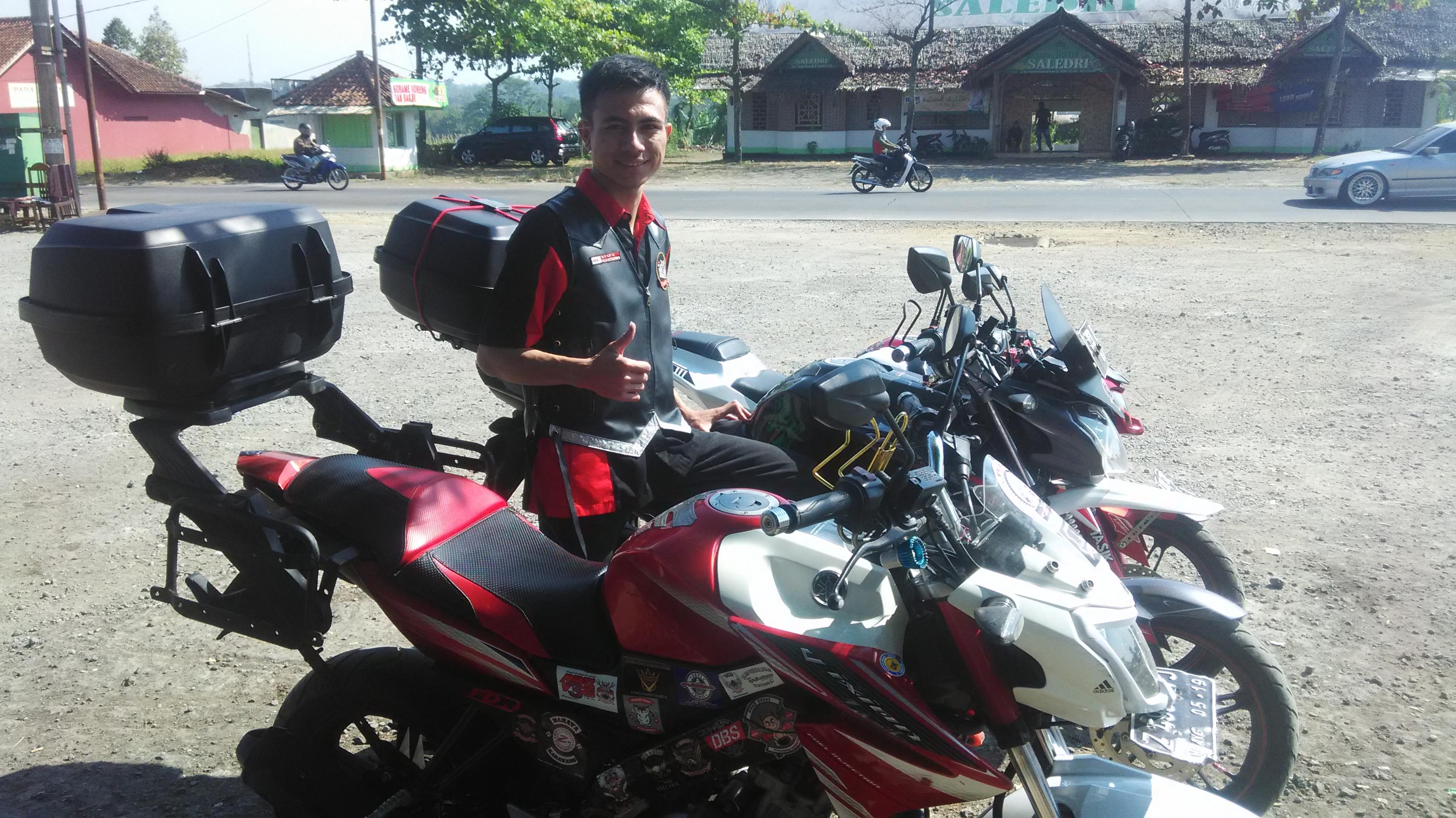 Modifikasi New Vixion Pakai Box Motor Ridergalau