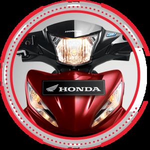 Lampu depan Honda Revo FI