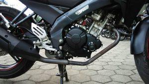 Modifikasi New Vixion Pakai cover crankcase Kanan Kiri Yamaha MX King 150