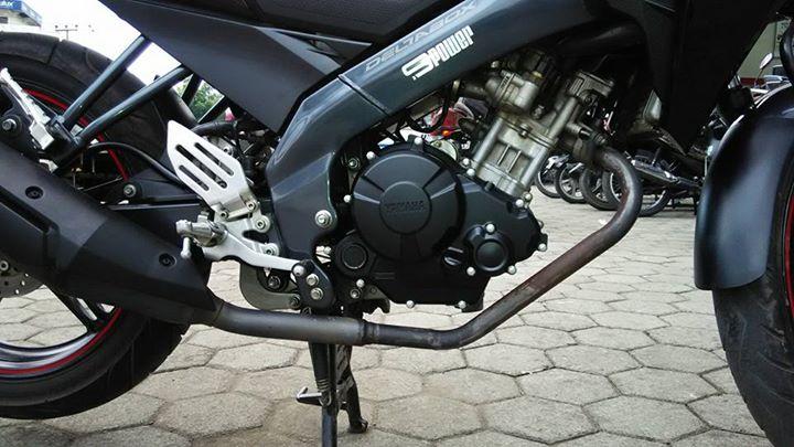 Modifikasi new vixion pakai bak kopling dan bak magnet atau crankcase MX king 150 1