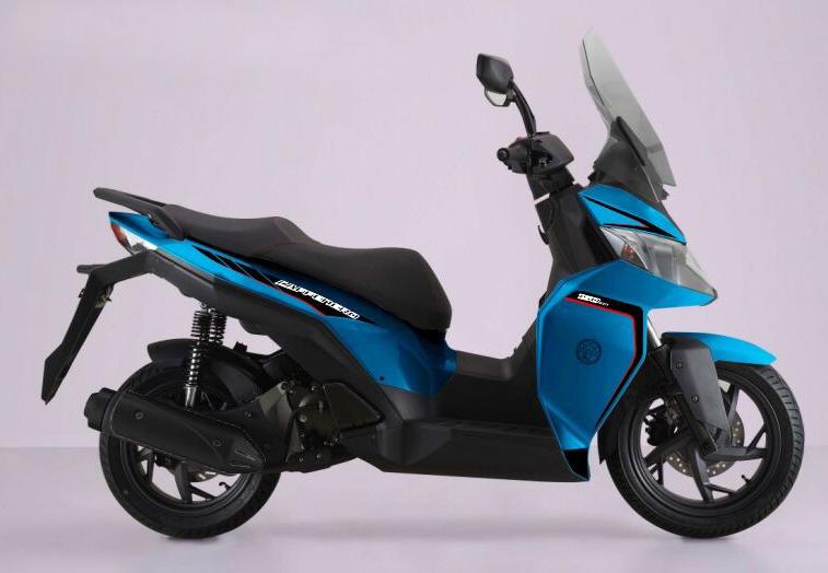 New Caffenero 150 Biru