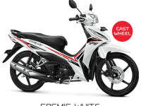 New Honda Revo Cosmic White CW