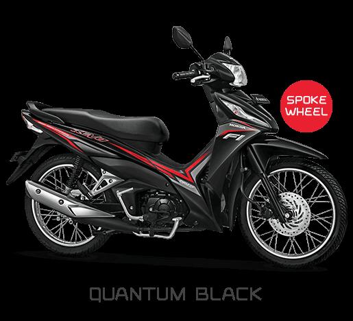 New Honda Revo Quantum Black Hitam SW