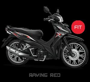 New Honda Revo Raving red Merah Fit