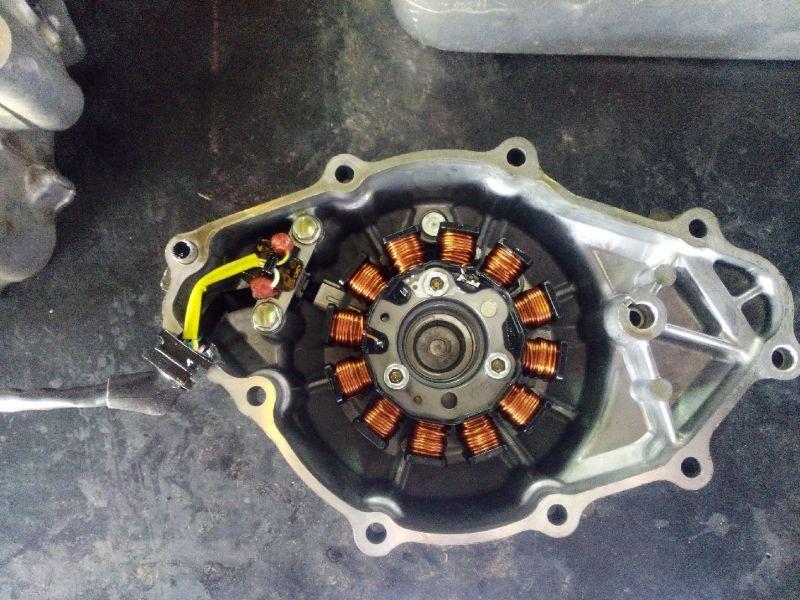 Perbedaan Generator Mesin CB150R Lama dengan All New CB150R