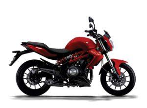 Pilihan warna Benelli TNT 250 Merah