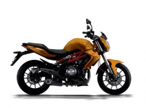 Pilihan warna Benelli TNT 250 Orange