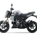 Pilihan warna Kawasaki Z125 Automatic Grey 1