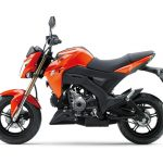 Pilihan warna Kawasaki Z125 Automatic Orange 1