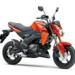 Pilihan warna Kawasaki Z125 Automatic Orange 2