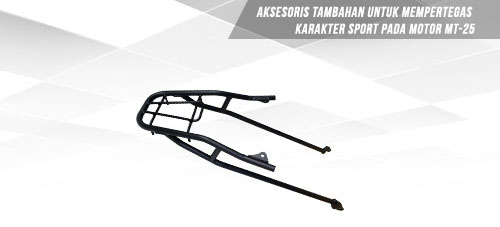 Rear Carrier atau Dudukan Box MT 25