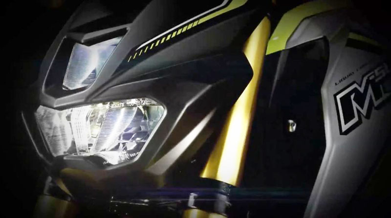 Headlamp Yamaha M-Slaz