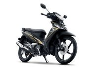 Honda Supra X 125 FI Striping Baru Sporty Luxury 2015
