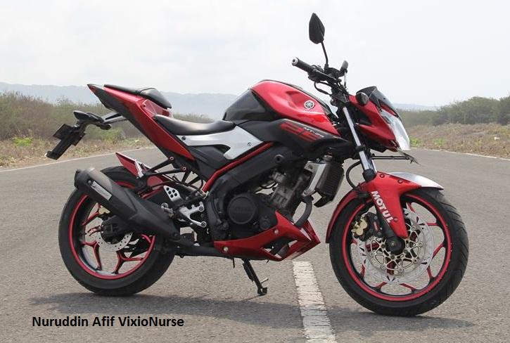 Modifikasi Vixion Pakai Body Yamaha MT 25