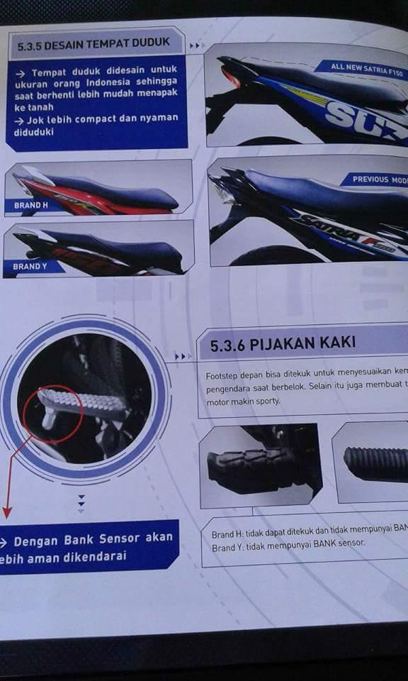 Desain Jok Suzuki Satria FU 150 Injeksi