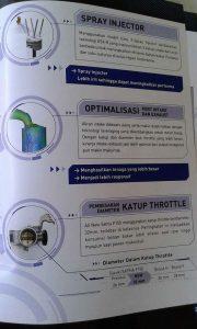 Fitur Keunggulan Injektor Suzuki Satria FU 150 Injeksi 1