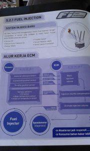 Fitur Keunggulan Injektor Suzuki Satria FU 150 Injeksi 2