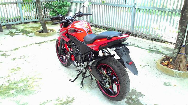 Honda All New CB150R Pakai Velg Lebar Axio 3-4,5 Inchi dan Arm RD Racing 4