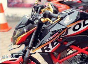 Honda All New CB150R Striping Ala Repsol Edition, Bukan SE Tapi Ganteng