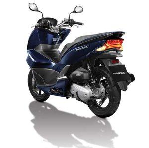 Honda PCX 125 2016 terbaru Biru