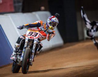 Marq Marquez Gagal Jadi Juara di Ajang Balap Motor Superprestigio Dirt Track