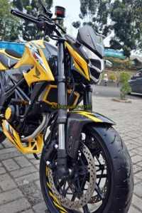 Modifikasi All New CB150R Urban Fighter, Kaki-Kaki Gambot dan Kekar