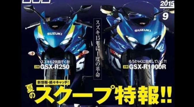 Motor 250CC Dual Silinder Suzuki