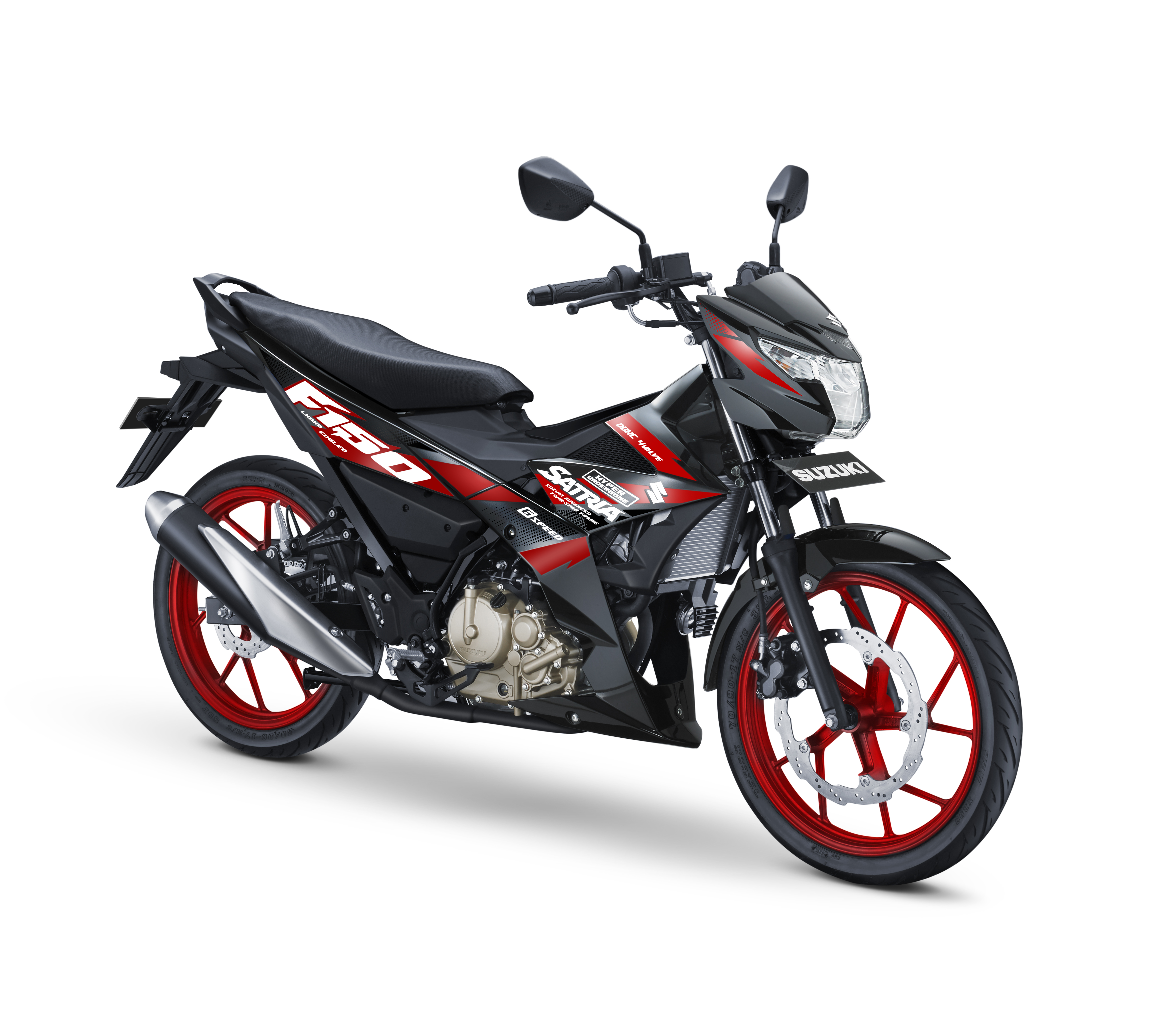 2018 suzuki 150. unique 150 pilihan warna dan striping all new satria f 150 2017 2018 in suzuki