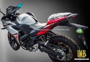 Yamaha R25 Striping dan pilihan warna putih merah terbaru 2016 3