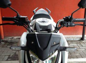 foto penampakan all new cb150r pake stang old vixion 4