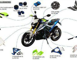 14 Daftar Harga Aksesoris Yamaha Xabre