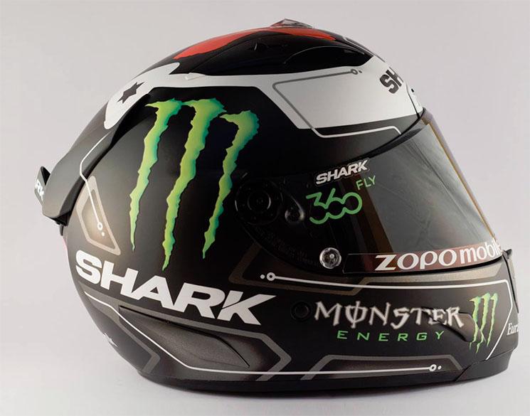 Desain Corak helm Shark Jorge Lorenzo Terbaru 2016 1