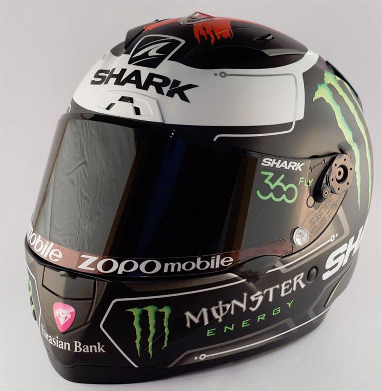 Desain Corak helm Shark Jorge Lorenzo Terbaru 2016 2