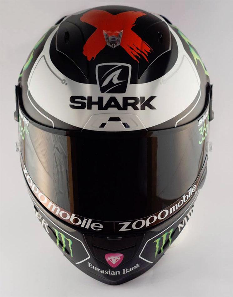 Desain Corak helm Shark Jorge Lorenzo Terbaru 2016 3