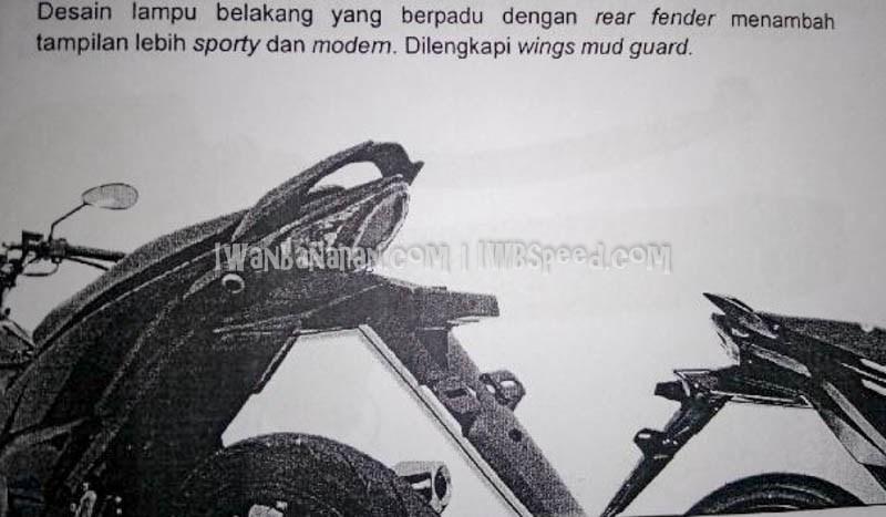 Desain rear fender yang bisa di copot dan pasang sesuai kebutuhan