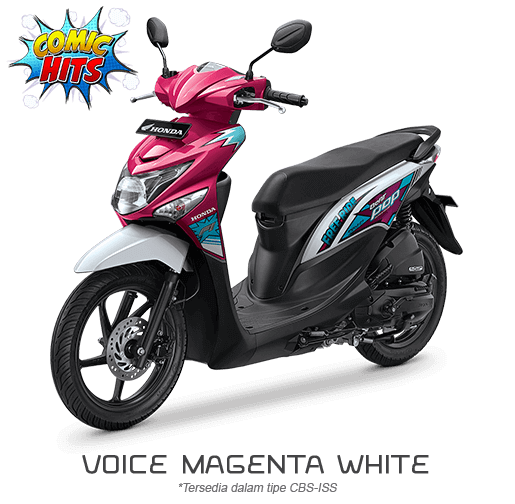 Honda Beat ESP Comic Hits Voice Magenta White 2016
