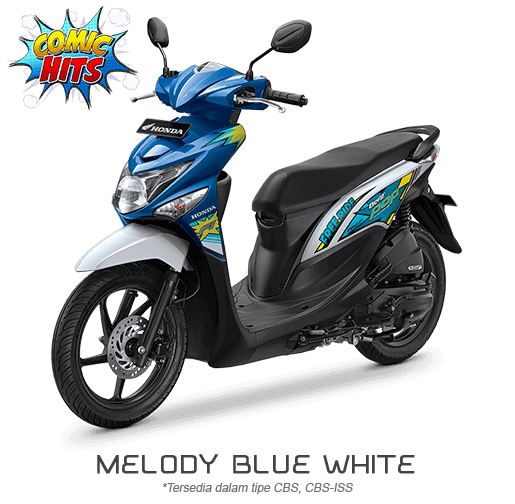 Honda Beat ESP Comic Hits melody Blue White 2016