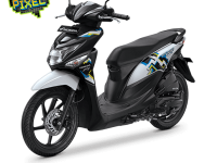 Honda Beat ESP Cool Pixel Harmony Black White 2016