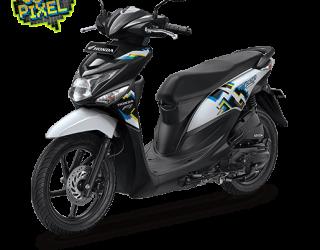 Honda Beat ESP Cool Pixel Harmony Black White 2016