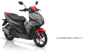 Pilhan warna Yamaha Aerox 125 LC champion matt grey