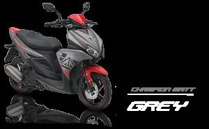 Pilhan warna Yamaha Aerox 125 LC champion matt grey