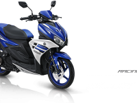 Pilhan warna Yamaha Aerox 125 LC racing blue