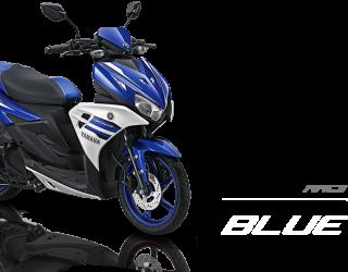 Pilhan warna Yamaha Aerox 125 LC racing blue