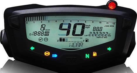 Speedometer digital TVS Apache RTR 200 4V
