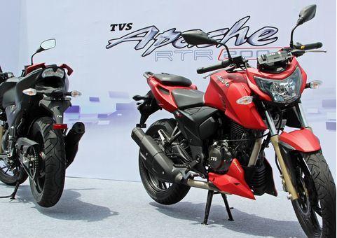 TVS Apache RTR 200 4V 3