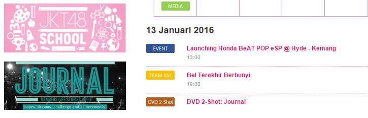 Tanggal Peluncuran Honda Beat Pop Pixel dan Comic Bocor Melalui Laman JKT48
