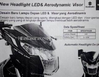 headlamp suzuki satria fu 150 fi