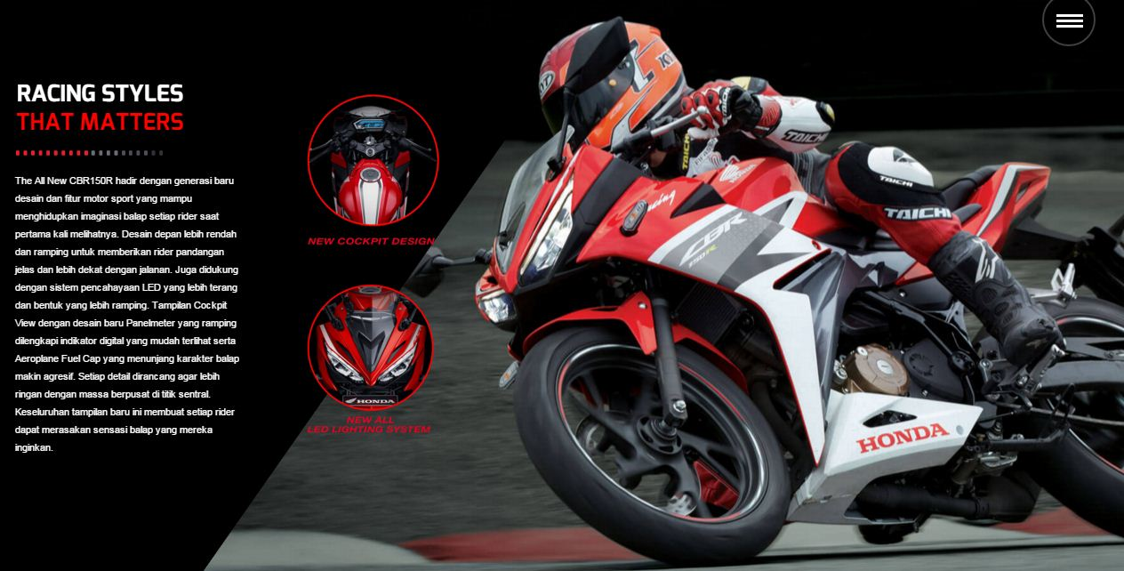 Desain All New CBR150R Facelift 2016