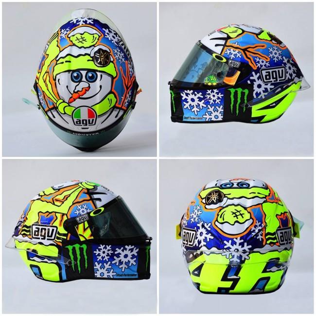 Desain Helm Baru Valentino Rossi Tes Pramusim Sepang Motogp 2016