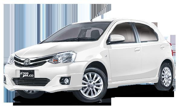 Toyota Etios Valco White
